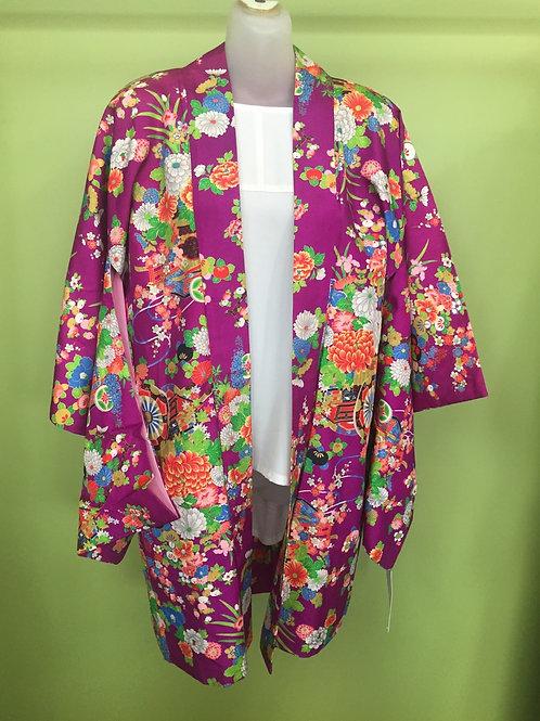Kimono Jacket Haori Purple