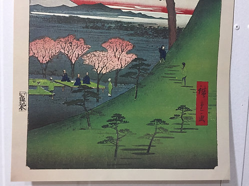 Print - One Hundred Famous Views of Edo