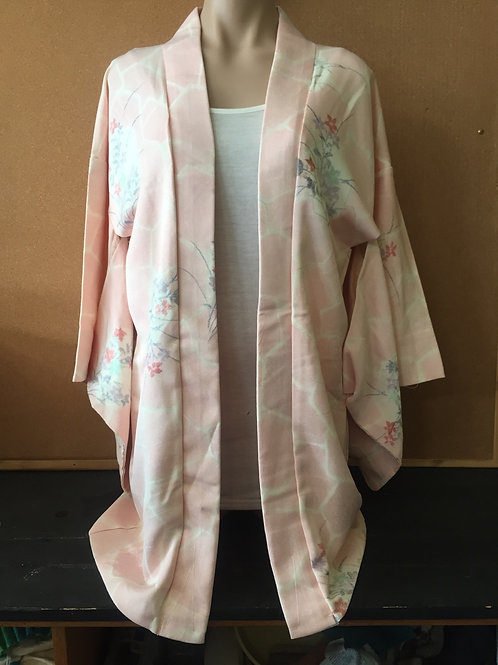 Kimono Haori Jacket light pink
