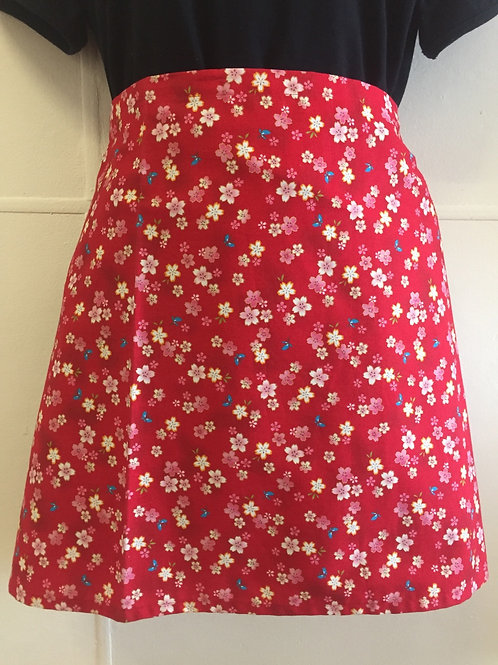 Wrap around skirt short