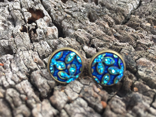 Earrings Resin stud