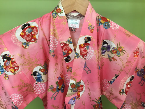 Girl's Kimono jacket and shorts