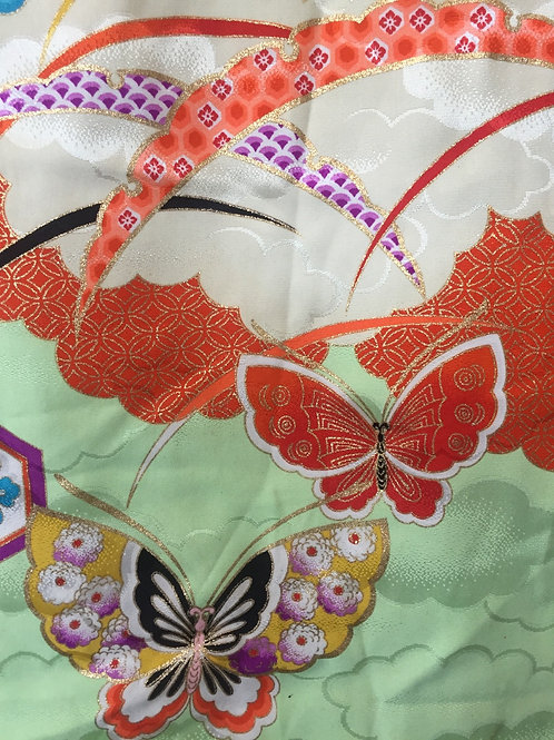 Kimono fabric polyester
