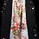 Thumbnail: Skirt - vintage kimono silk fabric - Long