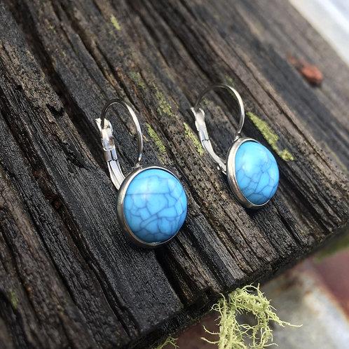 Earrings Resin