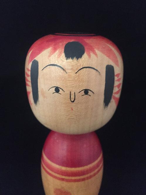Kokeshi Doll Vintage Medium --- Charm to Prevent Fires