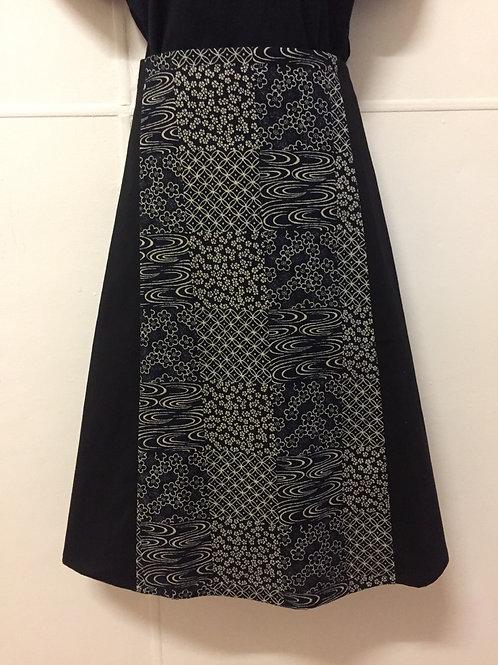 Wrap around skirt long