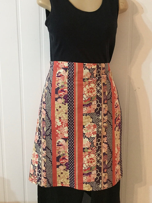 Wrap around skirt  medium length