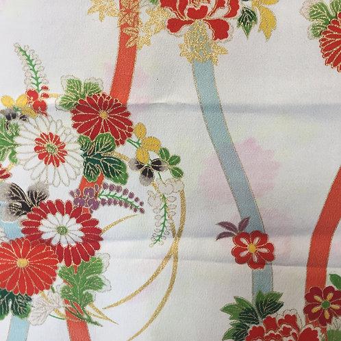 Kimono fabric silk