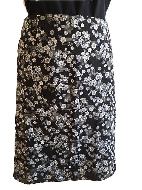 Wrap around skirt  medium length