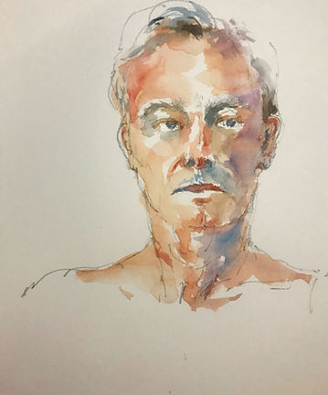 Watercolor study courtesy Jackie Saunders