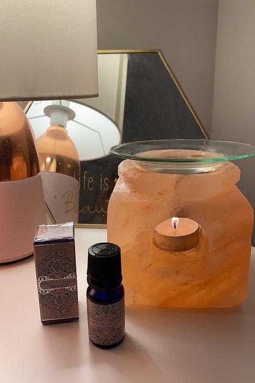 Meditation fragrance oil