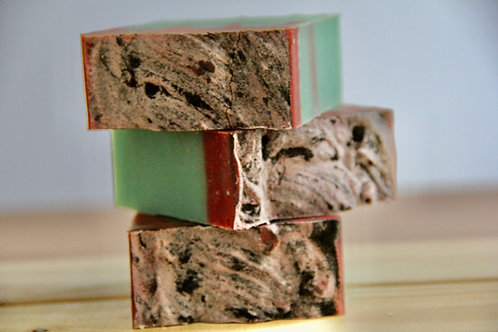 Running Red (A Light Exfoliating Soap)