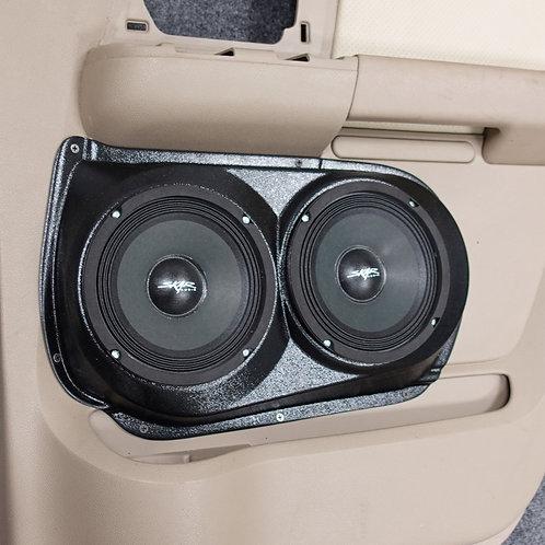 """Rear Door Dual 6.5"""" Speaker Pods 2003-2006 Expedition"""