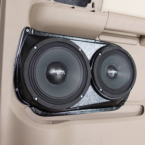 """2003-2006 Ford Expedition 6.5"""" and 8"""" Custom Speaker Pods, Custom Car Audio, Sound System"""