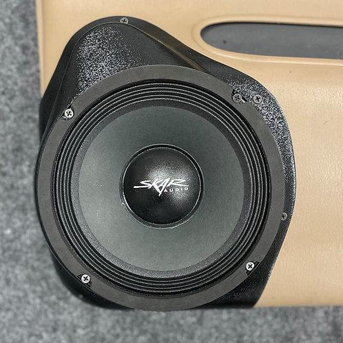 """8"""" Front Door Speaker Pods '98 - '00 Dodge Durango"""