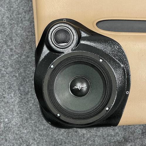 """6.5"""" Front Door Speaker Pods with .5"""" Tweeter  '98 -'00 Dodge Durango"""