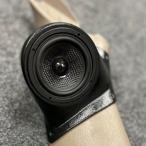 """2003-2009 Toyota 4Runner Custom Speaker Pods, 3.5"""" A-Pillar"""