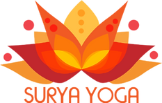 Logo Surya yoga by MagTeyss studio visuel
