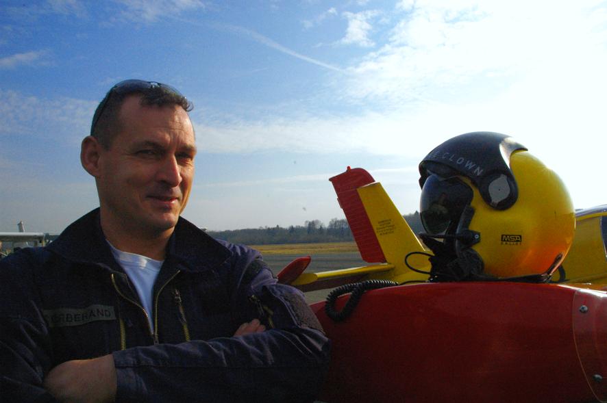 Thierry, aérodrome La Vèze