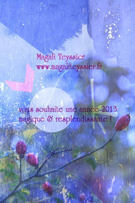 Carte voeux 2013