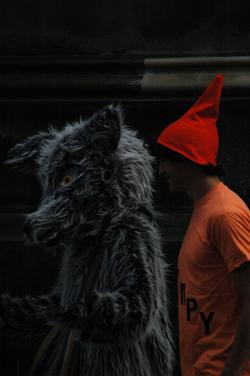 Loup et chaperon, Edimbourg