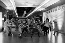 Harlemshake, centre commercial