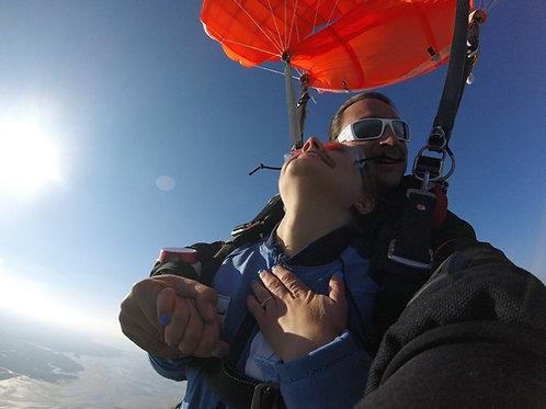 Saut en parachute le HAVRE ! Estuaire de la Seine