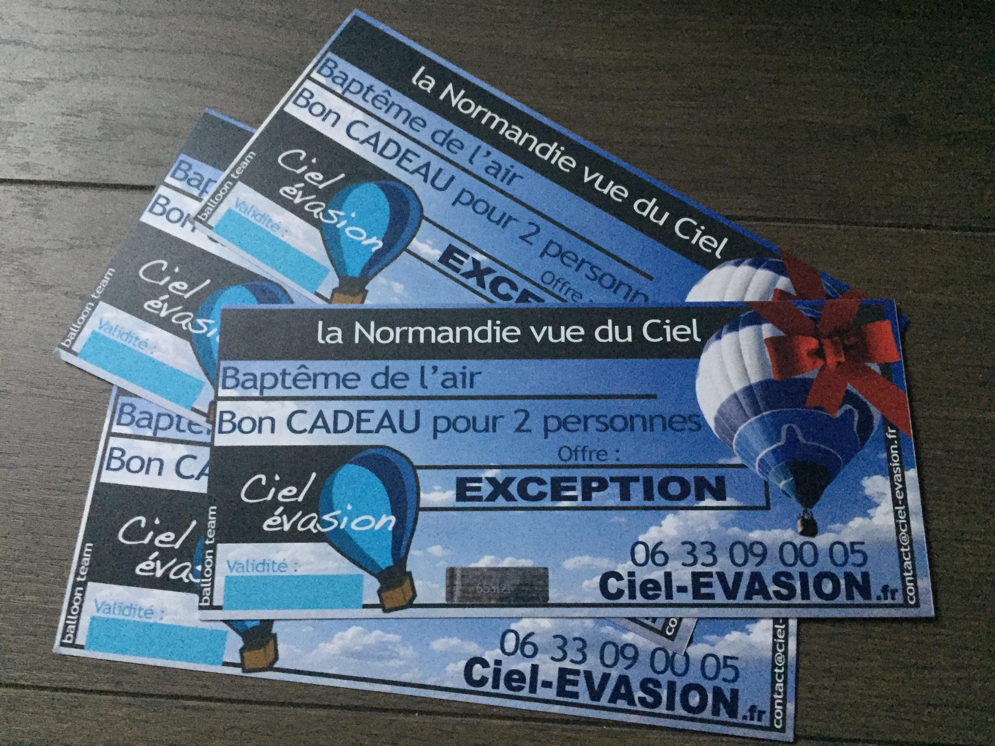 Ciel-ÉVASION Montgolfière