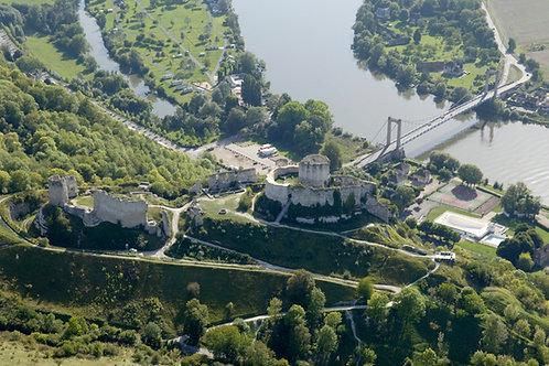 La vallée de Seine et le Château Gaillard