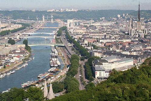 Le grand tour de Rouen