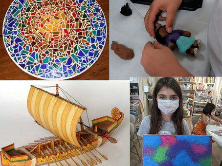 Start your journey! Are you ready? Summer Art Camp