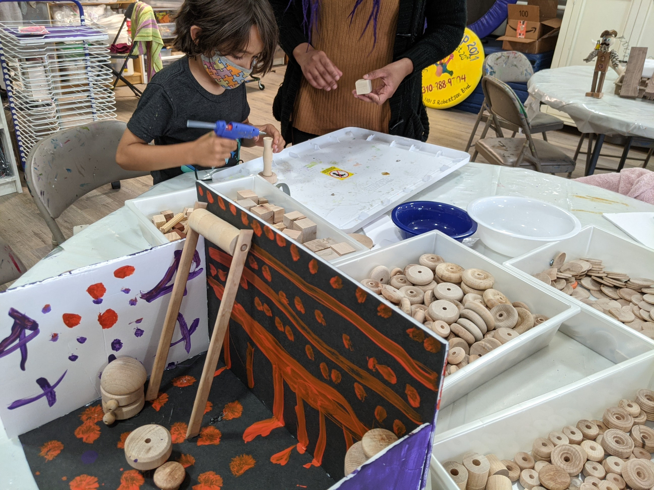Building & Clay,  8 classes, ages 6-12