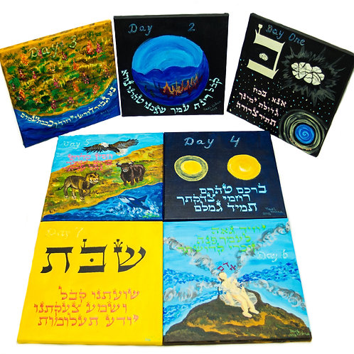 Seven Days of Creation, originals