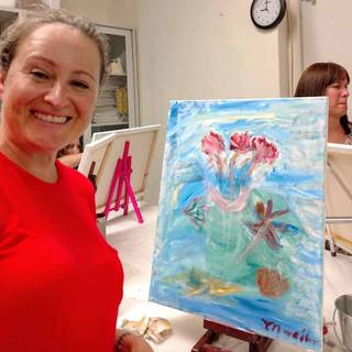 Marina and her paintingnew.jpg