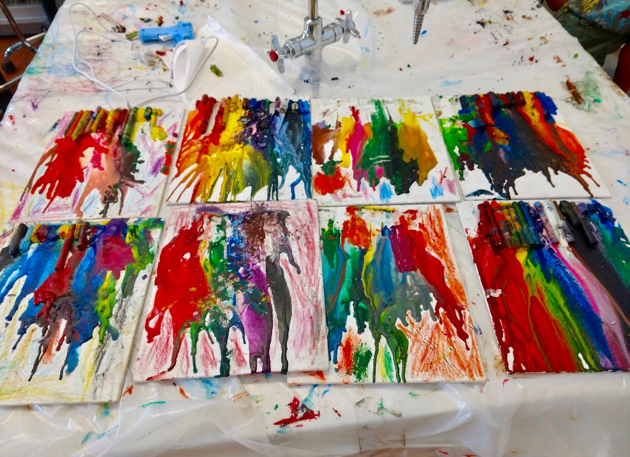 various melted crayons project.jpg