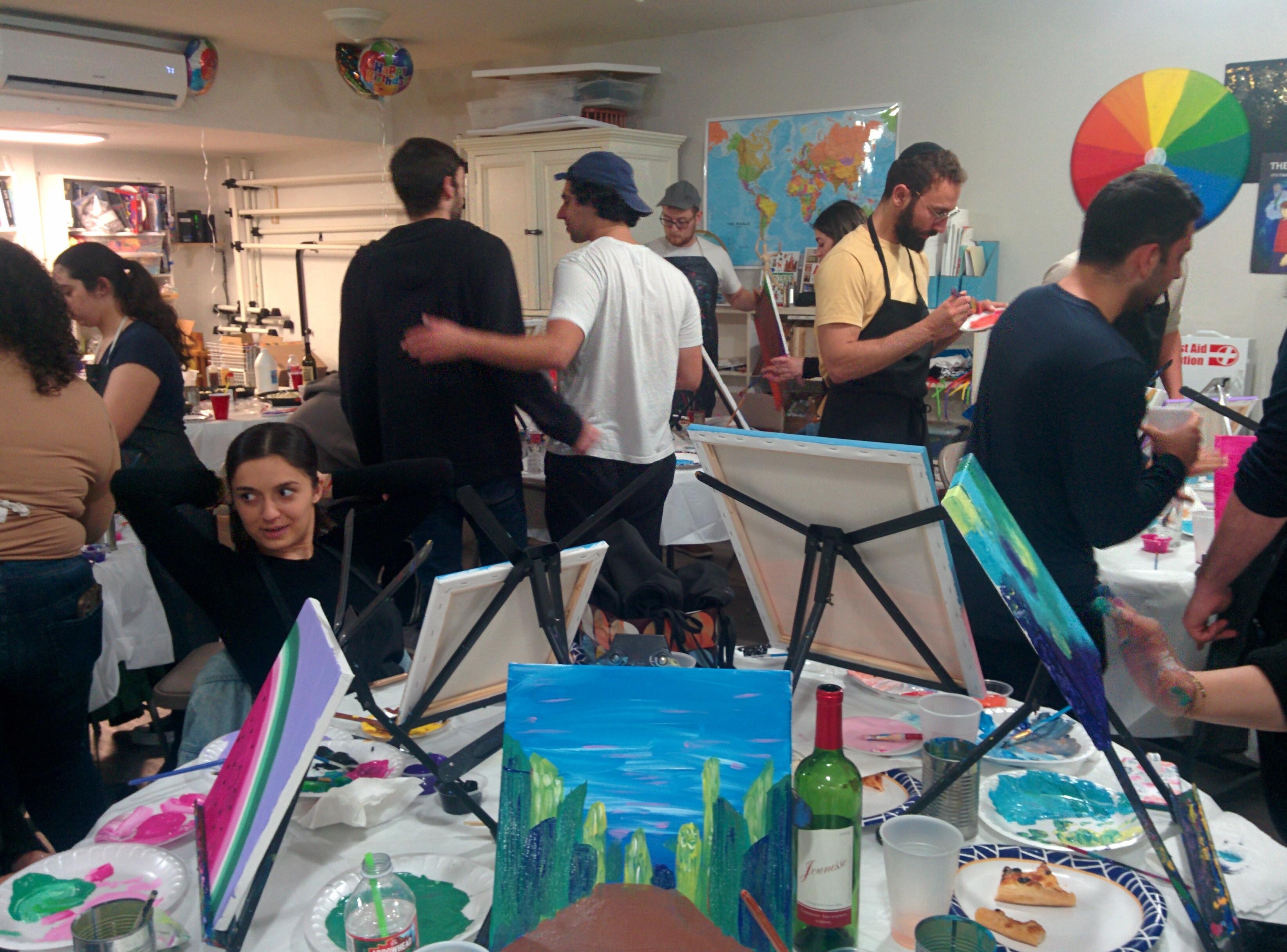 Paint Nights - Second Sunday
