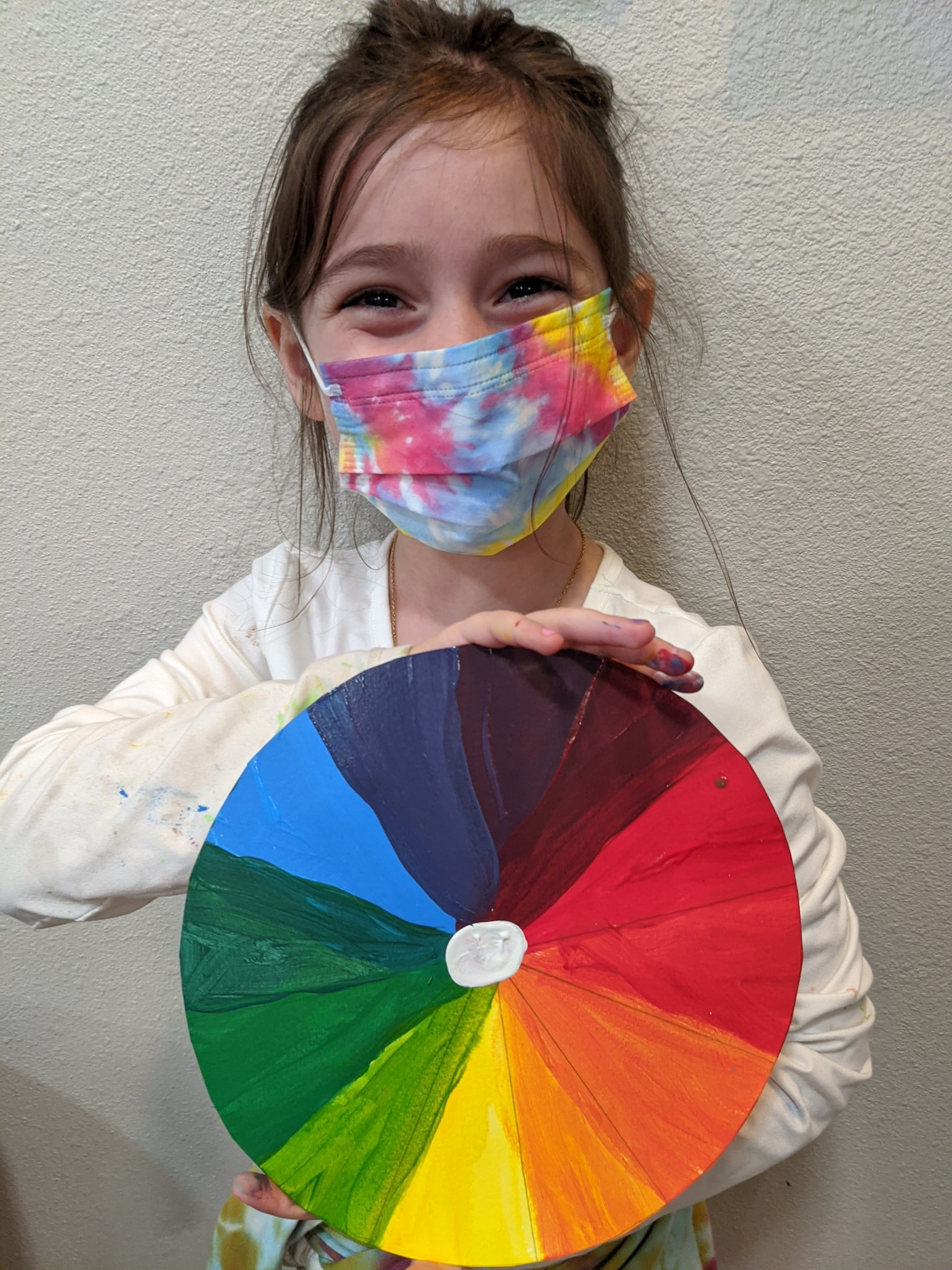 Color Theory - 8 classes, ages 6-12