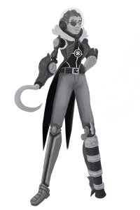 Old Character Render