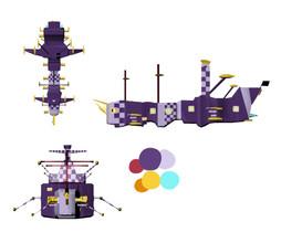 Old Ship Design
