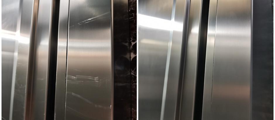 Реставрация лифтовой кабины Schindler
