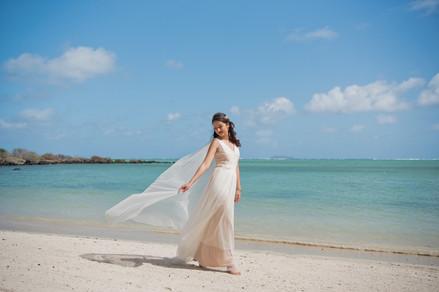 Samiyah wearing Sahara