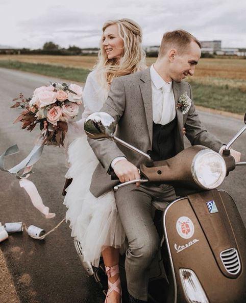 Katya Katya real bride shot by Linda Lau