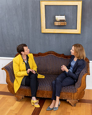 Dr. Anette Fintz und Andrea Simon im Gespräch, Diskussionen, Diskurs, Podcasts