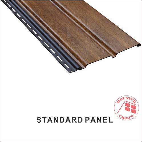 PVC SOFFIT STANDARD PANEL (Color Traditional)