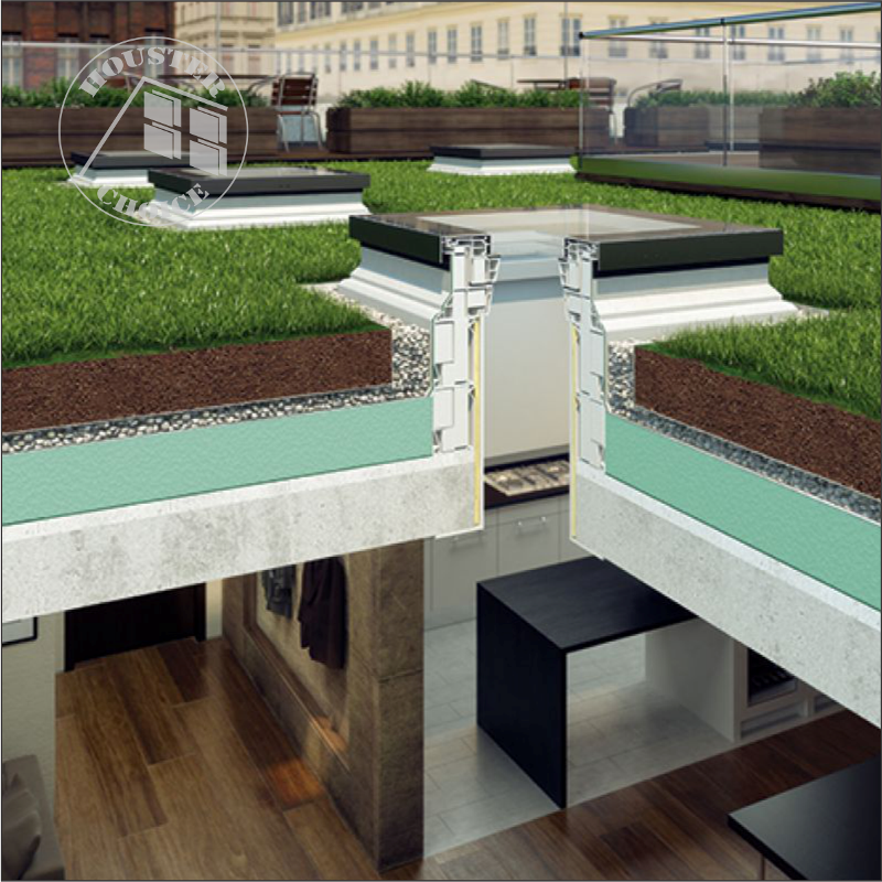 DXF FLAT ROOF  MOUNTED Fakro