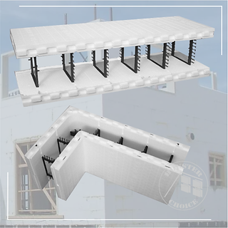 INSULATED CONCRETE FORMS Houster Choice.