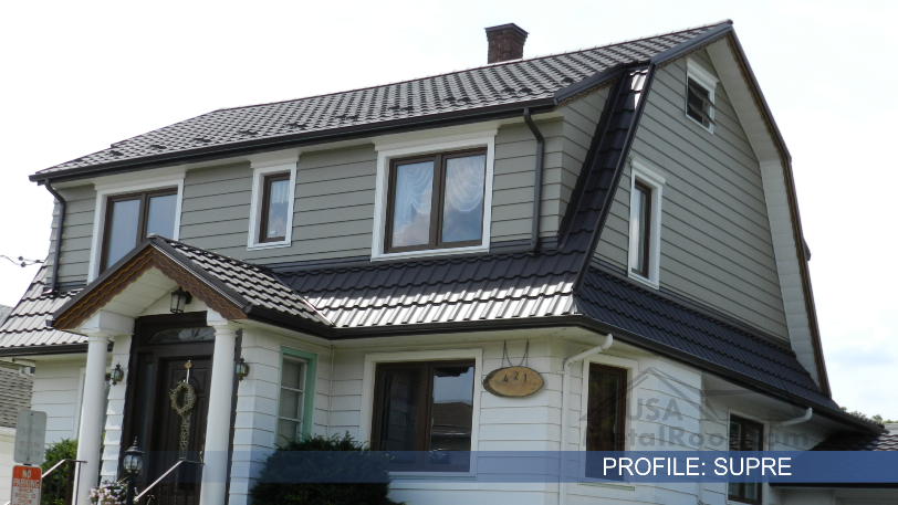 Metal Tile Roofing SUPRE