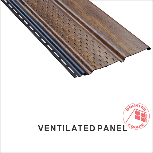 PVC SOFFIT VENTED PANEL (Color Traditional)