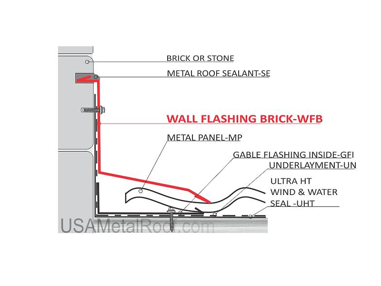Captivating WALL FLASHING BRICK